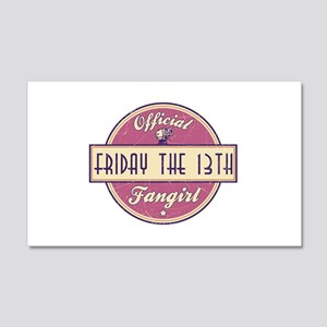 Official Friday the 13th Fangirl 22x14 Wall Peel