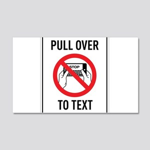 Pull OverTo Text Wall Decal