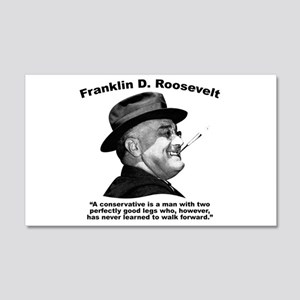 FDR: Conservatives 20x12 Wall Decal