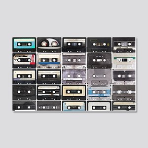 Cassette Tapes Wall Decal