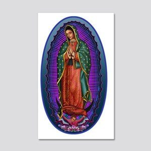 5 Lady of Guadalupe 20x12 Wall Decal
