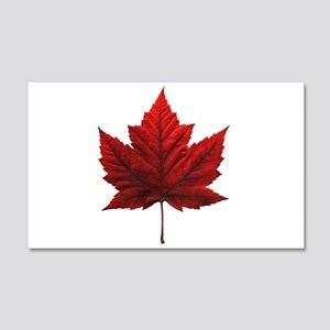 Canada Maple Leaf Souvenir 20x12 Wall Decal