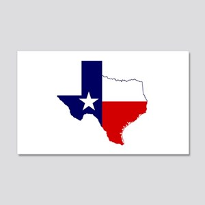 Great Texas 20x12 Wall Decal