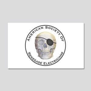 Renegade Electricians 20x12 Wall Decal