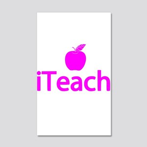 Gifts for Teachers - iTeach 20x12 Wall Decal