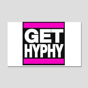 get hyphy lg pink Wall Decal