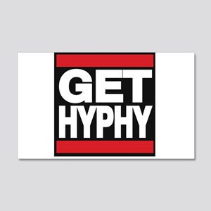get hyphy lg red Wall Decal