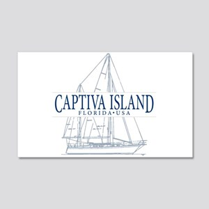 Captiva Island - 20x12 Wall Decal