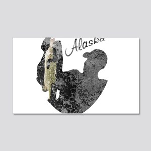 Alaska Fishing Wall Decal