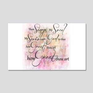 How great thou art Wall Decal