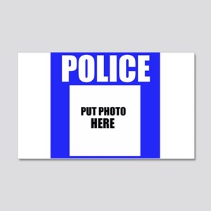 Police Wall Decal