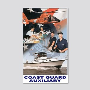 USCGAux-Journal 20x12 Wall Decal