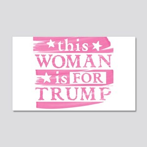 Woman for TRUMP Wall Decal
