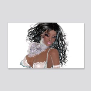 Black girl Wall Decal