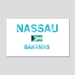 Nassau, Bahamas Designs 20x12 Wall Decal