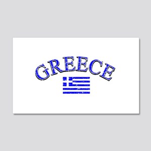 Greece Soccer Designs 22x14 Wall Peel