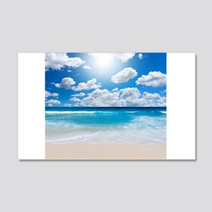 Sunny Beach Wall Decal