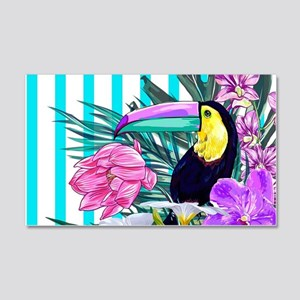 Tropical Toucan 20x12 Wall Decal