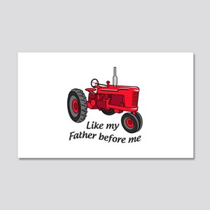 Like My Father Wall Decal