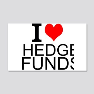 I Love Hedge Funds Wall Decal