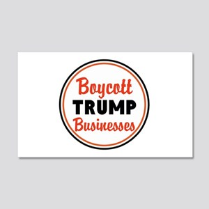 Boycott Trump businesses Wall Decal