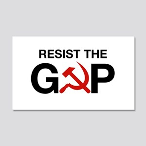 Resist The GOP Wall Decal