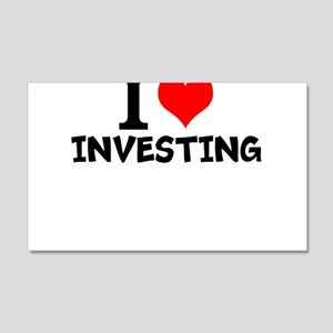 I Love Investing Wall Decal