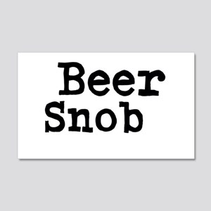 Beer Snob Wall Decal