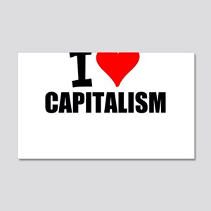 I Love Capitalism Wall Decal
