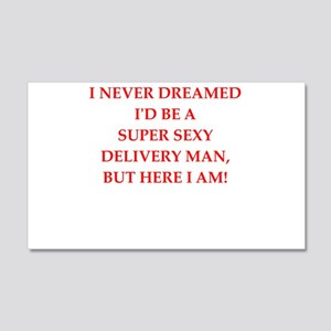 delivery Wall Decal