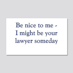 lawyer someday Wall Decal