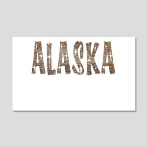 Alaska Coffee and Stars Wall Decal