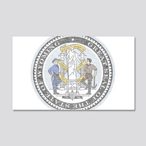 Vintage Wyoming Seal Wall Decal