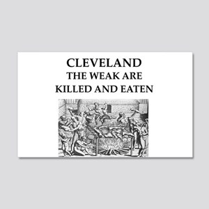 cleveland 20x12 Wall Decal