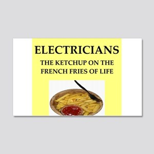 electrician 20x12 Wall Decal