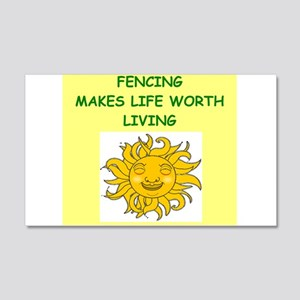 fencing Wall Decal