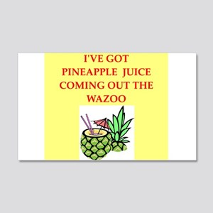 pineapple juice Wall Decal
