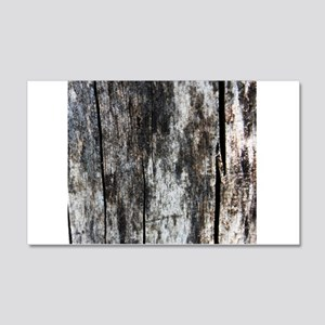 Wood Faded 1 Wall Decal