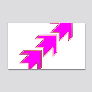 Pink Arrows Wall Decal