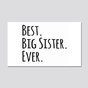 Best Big Sister Ever Wall Sticker