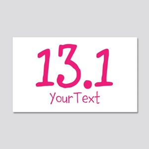 Customize PINK 13.1 Wall Decal