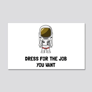 Astronaut Dress Wall Decal