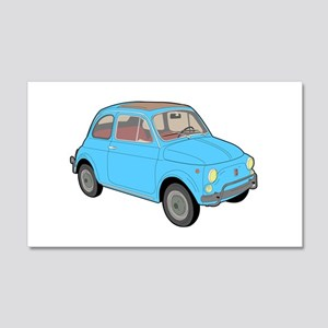 500 1957 blue Wall Decal