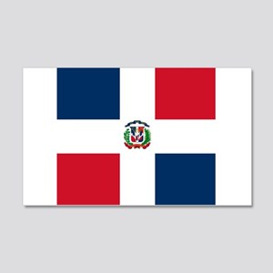 Flag of the Dominican Republic Wall Sticker