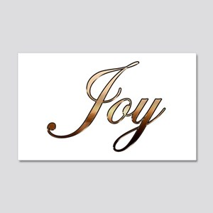 Joy 20x12 Wall Decal