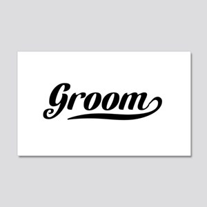 Groom Wall Decal