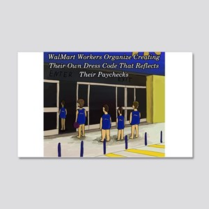 Workers Dress Code Wall Decal