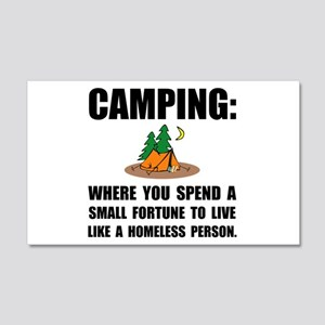 Camping Homeless Wall Decal