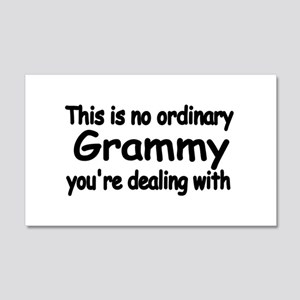This is no ordinary Grammy you're dealing with Wal