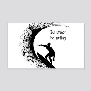 I'd Rather Be Surfing Wall Decal